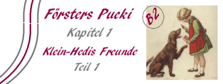 Försters Pucki - Kapitel 1-1 - B2