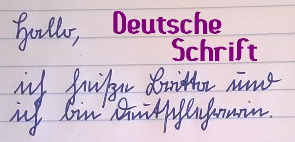 magicGerman.de: Deutsche Schrift