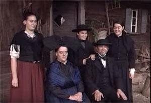 Familie Boro - Schwarzwaldhaus 1902
