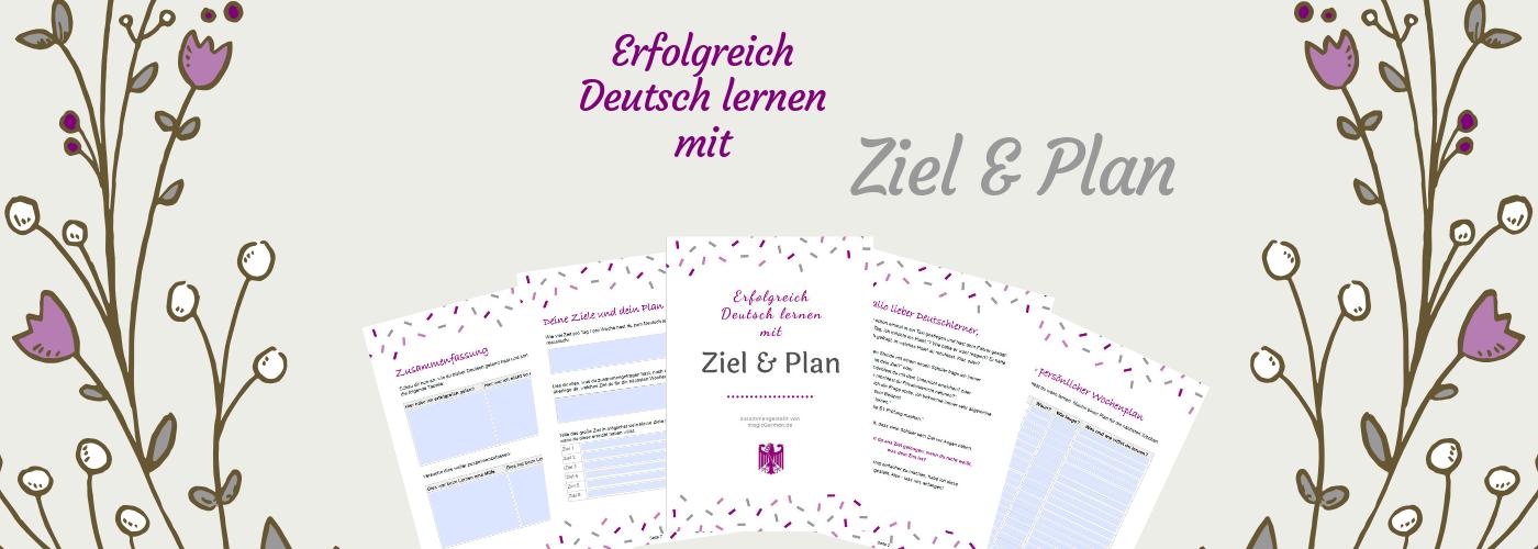 Ziel und Plan - magicGerman.de